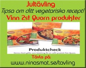 Tävla! Tipsa om ditt vegatariska recept och vinn!