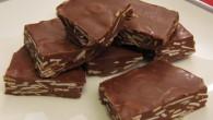 Nytt recept på wienernougat. Krämig godis med mycket smak av choklad och nougat. Med mörkare choklad som gör smaken fylligare.