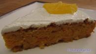 Nytt recept på saffranskaka saftig kaka med mycket smak av apelsing och en vanilj glasyr