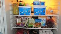 Grekisk produkter i vårt kylskåp från Fontana